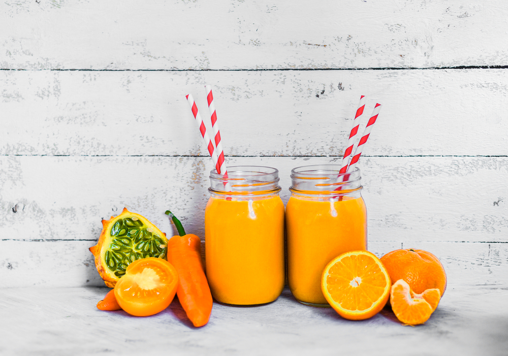 Carrot and Orange Smoothie